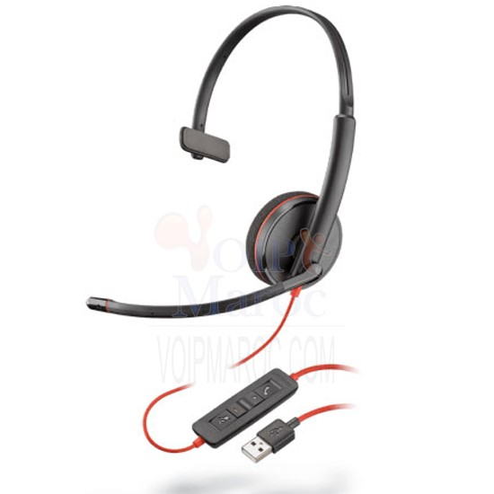 BlackWire C3210 A Casque Filiaire USB Monaural 209744-101